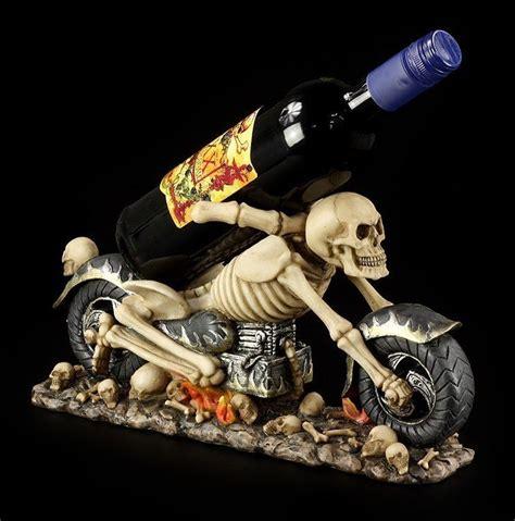 Fantasy Motorrad Bilder by Esqueleto Motocicleta Como Soporte De Botellas Muerte