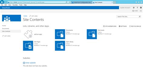 sharepoint 2013 template sharepoint 2013 foundation preview steps by steps setup