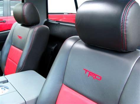 Toyota Tundra Leather Seats Toyota Trd Seat Covers Tundra