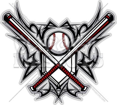 Tribal Baseball Design Graphic Vector Logo Baseball Designs