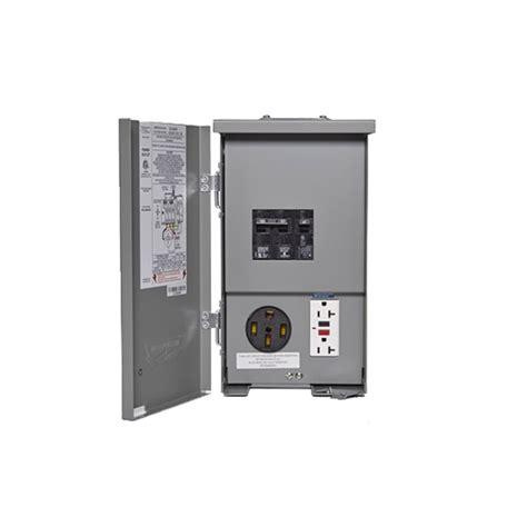 connecticut electric psc 55gr hr 120 240v rv panel 50a