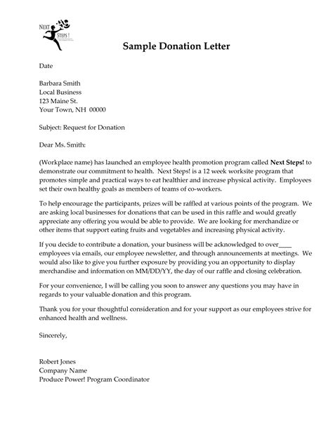 Request Letter Sle For Business business charity donation letter 28 images 9 donation