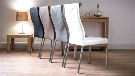 Gray Leather Dining Room Chairs by Chevron Dining Chairs Gray Leather Cheap Black Room Sets L