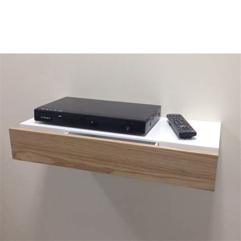 Shelf With Drawer floating shelf with ash drawer 600x250x100mm mastershelf