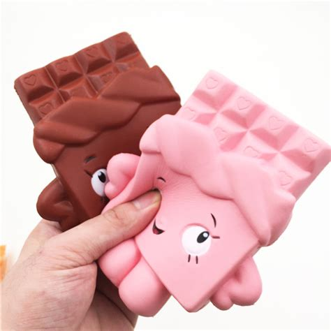 Chocolate Squishy squishy chocolate bar rising 13cm jumbo kawaii