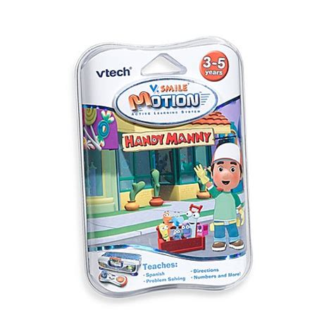 bed bath and beyond handy heater vtech 174 v smile 174 smartridge cartridge in handy manny bed