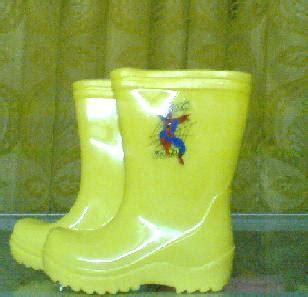 Sepatu Boot Warna Kuning toko jas hujan perlengkapan hujan sepatu boots anak