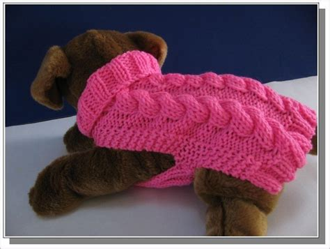 knitting pattern for dog sweater dog sweater knitting pattern celtic doggie smart cables