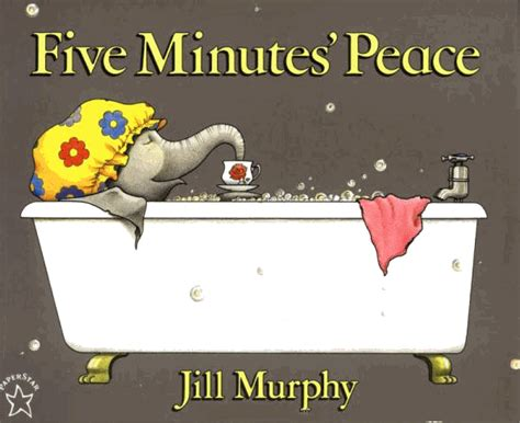five minutes peace large momo celebrating time to read quot one hundred books quot meets the large family by jill murphy