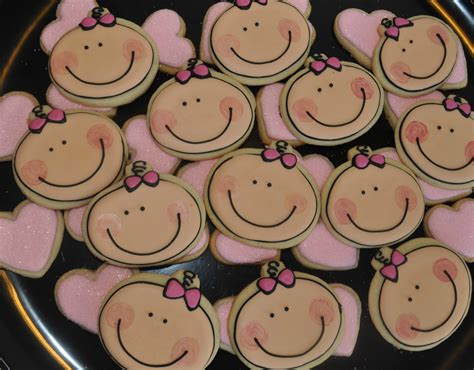 How To Make Baby Shower Cookies Favors by How To Make A Baby Cookie Great Cookie Favor