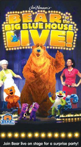 bear inthe big blue house live opening to bear in the big blue house live 2002 vhs at scratchpad the home of
