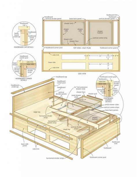 Bedroom Build Storage Bed Plans How To Build Storage Bed How To Build A Storage Bed Frame