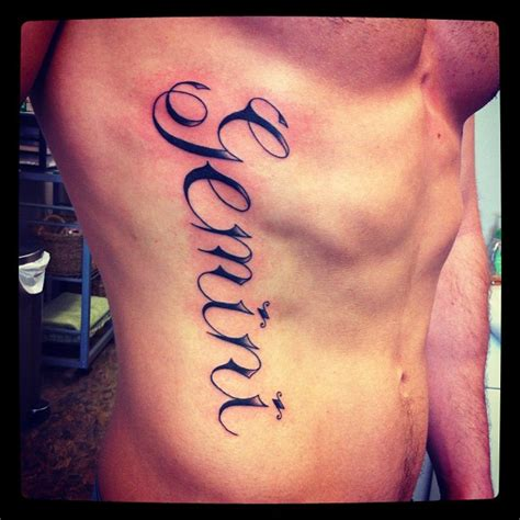 gemini tattoos for men gemini tattoos and designs page 16