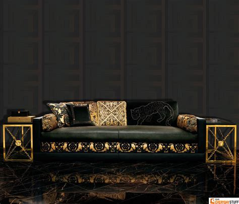 i need a gold house with versace sofas versace wallpaper border gold black luxury satin modern