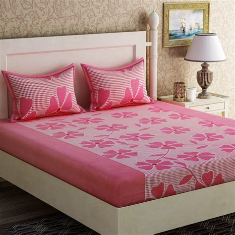 best bed sheets for the price zesture cotton floral bedsheet buy zesture cotton floral bedsheet at best