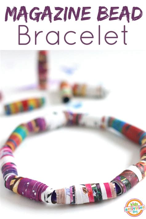 where can i buy stuff to make jewelry diy jewelry make bracelets with magazine recycle
