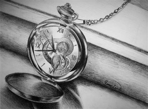 pocket watch by imaginarynumbers on deviantart