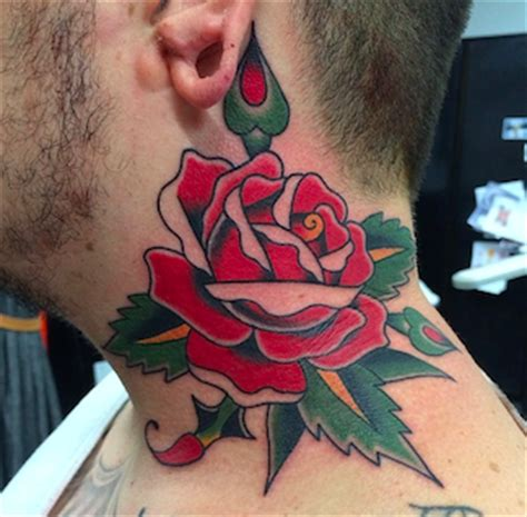 Neck Tattoo Rules | here s what i have to say about your f ing neck tattoo