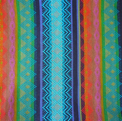 bright colored upholstery fabric tribal fabric latin american navajo ethnic bright