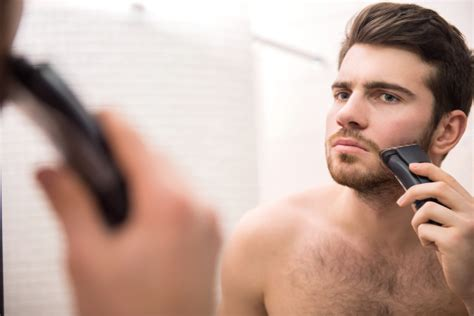 men who shave why all men need to shave off that chinstrap beard