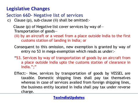 section 66d of service tax changes proposed in service tax by union budget 2016 17