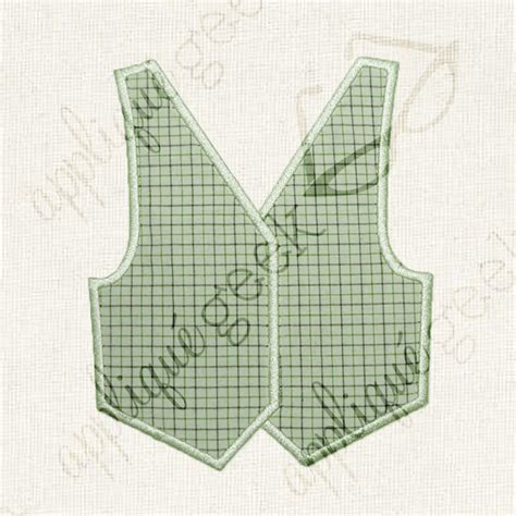 printable baby vest pattern vest applique by designedbygeeks craftsy