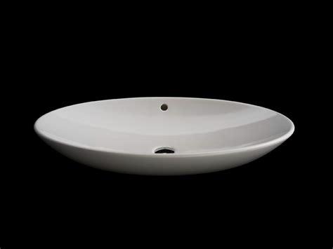 vasque 224 poser ovale ellisse by rifra