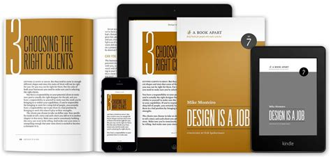 application design books a book apart design is a job