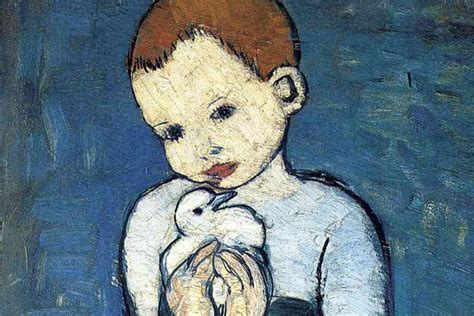 picasso paintings child with a dove wales aberconway family to sell pablo picasso s