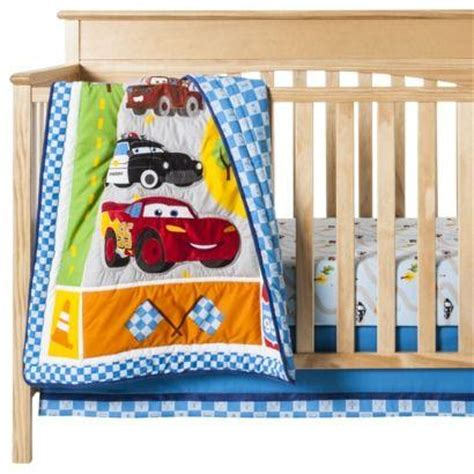 Cars Crib Bedding Set New Disney Junior Junction Cars 14 Pc Crib Nursery Bedding Set Bumper Mobile Ebay