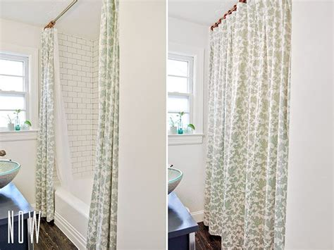 split shower curtains best 25 double shower curtain ideas on pinterest tall