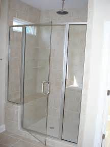 framed glass shower doors framed glass shower enclosure project 5 delta windows