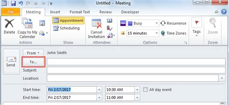 Bcc Calendar 3 Easy Tips To Cc Or Bcc An Outlook Meeting Invitation
