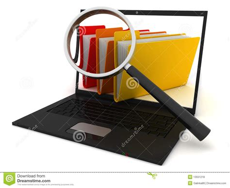 Computer Search Searching The Computer Royalty Free Stock Photos Image 13551218