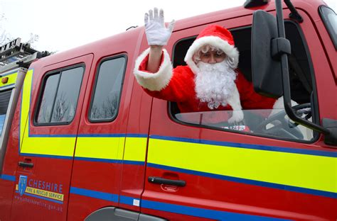 merry christmas  cheshire fire  rescue service