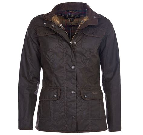 womens barbour waxed cotton utility jacket barbour barbour ladies utility wax jacket