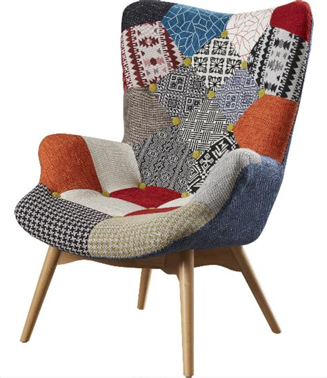 Patchwork Upholstered Furniture - 6 patchwork lounge chairs for your home furniture