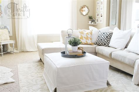 coffee table slipcover thrifty and chic diy projects and home decor