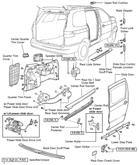 car diagram toyota sienna 2006 car free engine image for user manual download