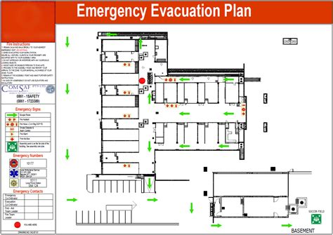 emergency evacuation floor plan template collection of know your exit instantevac services 100