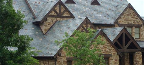 house slate stone house with slate roof