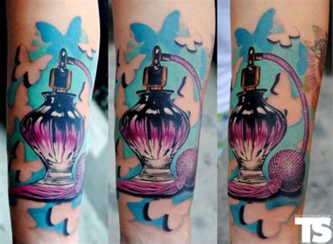 perfume bottle tattoo google search tattoos