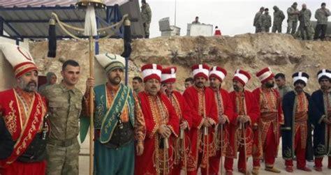 ottoman band ottoman military band performs at turkey syria border