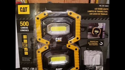 cat rechargeable led work light costco cat led work lights 500 lumens costco deal