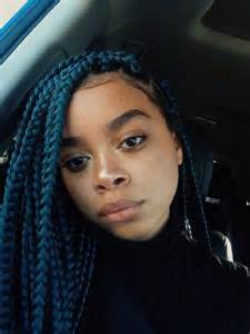 color braids best 25 colored box braids ideas on box braid
