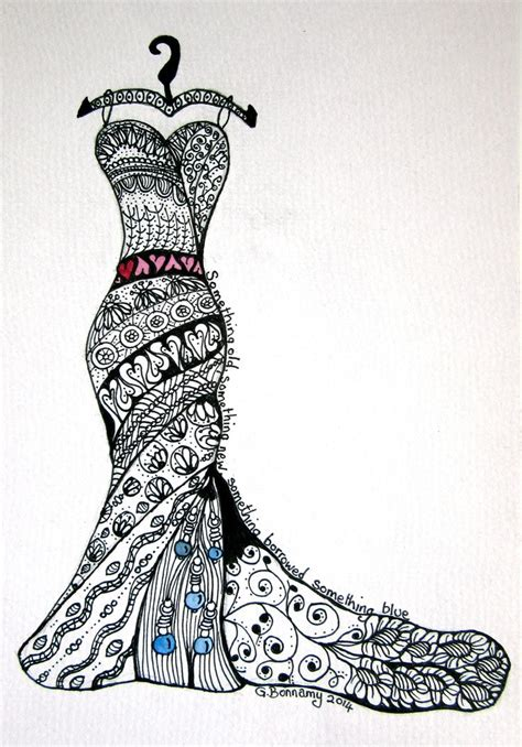 doodle design draw fashion 17 best images about zentangles dresses on