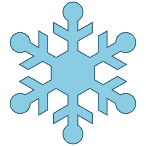 snowflake clipart snowflake clip easy 15 clip arts for free