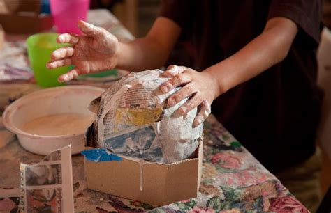 Can You Make Paper Mache With Flour And Water - 5 easy glue recipes