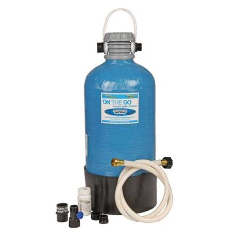 on the go portable water portable water softener double