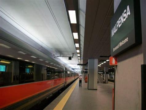 malpensa porta garibaldi da luned 236 treni raddoppiati per malpensa con la nuova
